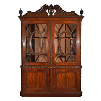1STDIBS.COM - Nick Brock Antiques - George III Mahogany Bookcase