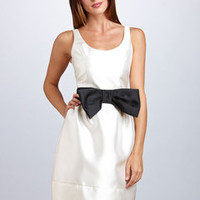 ideeli | JUST TAYLOR Bow Belt Dress