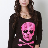 Lost Love Skull Top