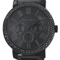 Vince Camuto Crystal Bezel Chronograph Bracelet Watch | Nordstrom