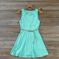 Dew Mist Heart Dress, Sweet Women's Party Dresses
