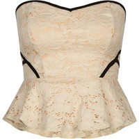 LOVE FIRE Lace Peplum Corset 212415100 | Corsets | Tillys.com