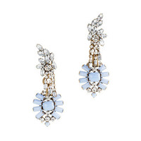 Lulu Frost for J.Crew crystal and color statement earrings - earrings - Women&#x27;s jewelry - J.Crew