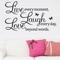 DIY! Live Laugh Love Rem...