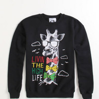 Riot Society Rasta Livin&#x27; The High Life Crew Fleece at PacSun.com