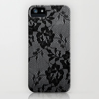 Romance in  Black & White iPhone Case by Irène Sneddon | Society6