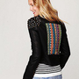 Free People  Clothing Boutique &gt; Embellished Vegan Leather Motorcycle Jacket