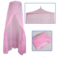 Baby Mosquito Net Baby Toddler Bed Crib Canopy Netting Pink / Soft and Stretchy Baby Netting-Made o