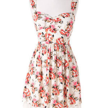 dELiAs > Open Back Floral Dress > dresses > view all dresses