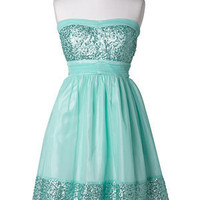 dELiAs &gt; Vanessa Sequin Trim Dress &gt; dresses &gt; view all dresses