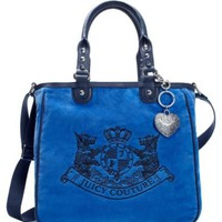 Juicy Couture | Velour Handbags - New Scottie Embroidery Tote Bag