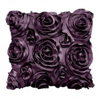 Wake Up Frankie - The Bouquet Dec Pillow - Plum