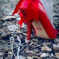 There's No Place Like Home Heels by Sweet Sin Couture