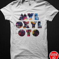 COLDPLAY Chris Martin Mylo Xyloto Rock Band Tour T-Shirt Tee All Size S-2XL 02