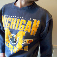Vintage University of Michigan Sweatshirt 1990
