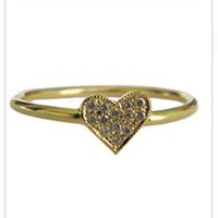 Ariel Gordon Jewelry Mini Shape Pave Rings at ShopGoldyn.com