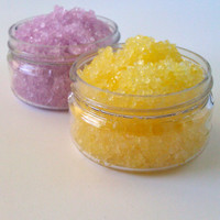 Lavender and Lemon Vegan Bath Soaks, Sea Salt, Mineral Salt