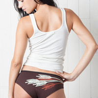 Arrow Print Bikini Style Women&#x27;s Underwear