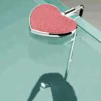 Visol Heart Shaped Table Purse Hanger