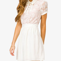 Contrast Lace Dress | FOREVER 21 - 2025100889