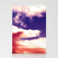 Sky Stationery Cards by Aja Maile | Society6