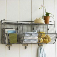 3-Bin Wire Shelf - VivaTerra