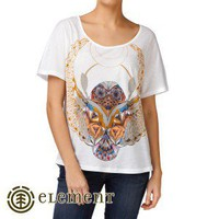 Element T-Shirts - Element Scarab T-Shirt - White