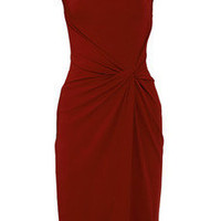 Michael Kors|Draped crepe-jersey dress|NET-A-PORTER.COM