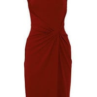 Michael Kors | Draped crepe-jersey dress | NET-A-PORTER.COM