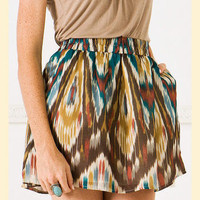 Watercolor Skirt                    - Francesca&#x27;s Collections