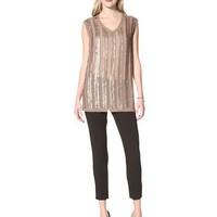 W118 by Walter Baker Women's Allie Tunic Beaded Top at MYHABIT