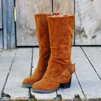 Rustic Romance Cuffed Boots, Rugged Boots & Shoes