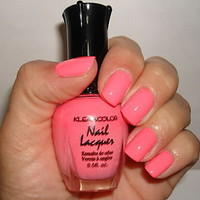 KLEANCOLOR NAIL POLISH~LACQUER ~ BARBIE PINK 22 ~ NEW!