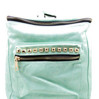 GOLD STUDDED PACK - Teal