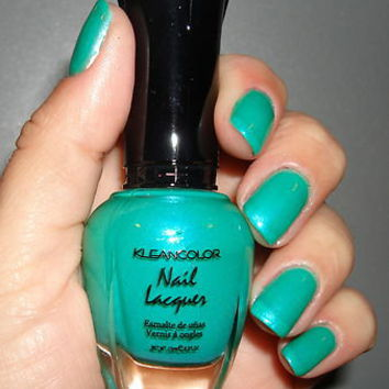 "KLEANCOLOR NAIL POLISH~LACQUER ""MYSTIC GRASS"" STUNNING!"