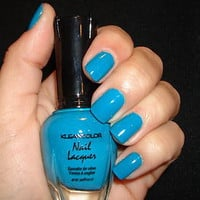 KLEANCOLOR NAIL POLISH~LACQUER ~ BEACH BLUE #25 ~ NEW!