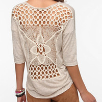 Urban Outfitters - Staring At Stars Crochet Back Sweater