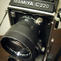 I See Ya With My Mamiya C220 Twin Lens Camera by timepassagesshop