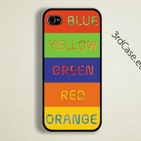 Case iPhone 4 Case iPhone 4s Case iPhone 5 Case troll case colur