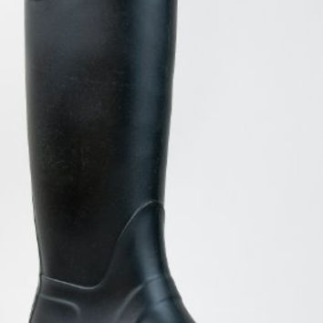 Bamboo PADINTON-01 Hunter Inspired Rubber Knee High Rain Boot