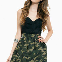 Blending In Skater Skirt $33