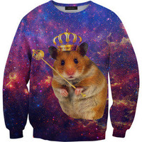Mr. Gugu &amp; Miss Go  King hamster sweater