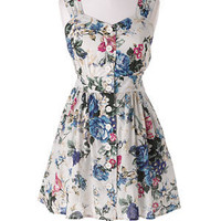 dELiAs > Floral Button Front Dress > clothes > dresses > pattern