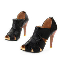 Leatherette Upper Stiletto Heel Gladiator Sandals Party Shoes.More Colors Available - $29.00