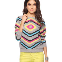 Vibrant Southwest Pullover