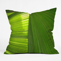 DENY Designs Home Accessories | Rosie Brown Palms 2 Throw Pillow