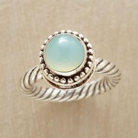 BIT OF SKY SIGNET RING        -                Single Stone        -                Rings        -                Jewelry                    | Robert Redford&#x27;s Sundance Catalog