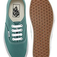 Vans Authentic Harbor Blue Lace Up Trainers at asos.com