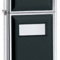 Zippo Slim Ultralite Black Lighter with Free Engraving