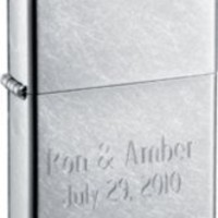 Zippo Street Chrome Lighter with Free Engraving